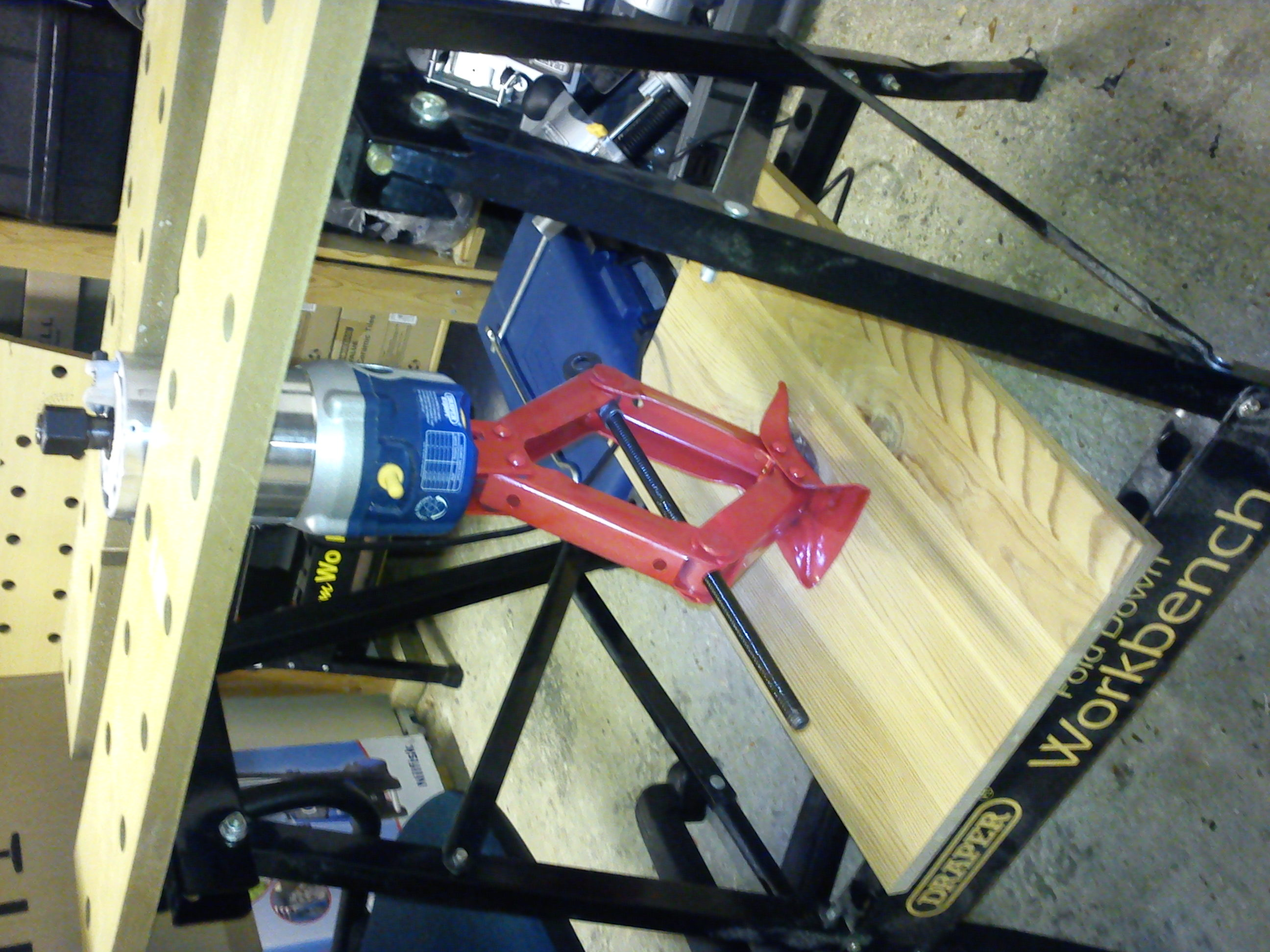 Projects router table part 1 aggravated wood butchery mock up showing lifting arrangement keyboard keysfo Image collections