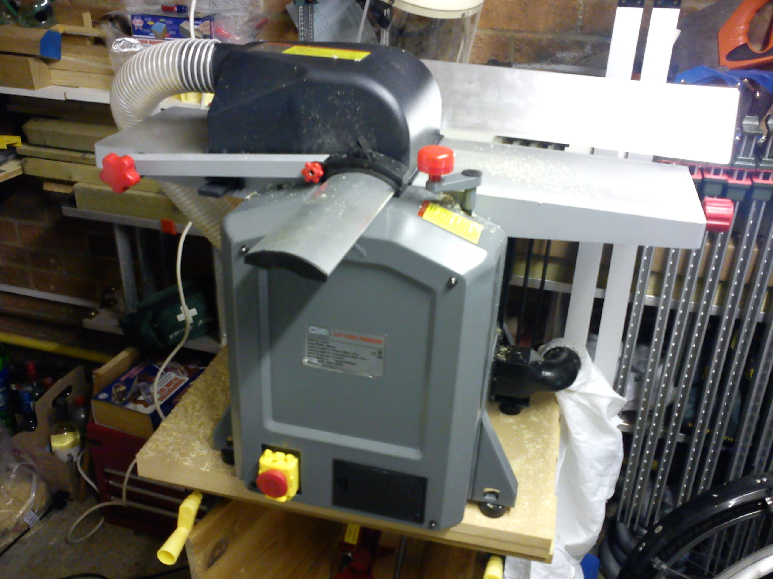 Review Sip 01552 Planer Thicknesser First Impressions