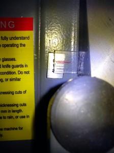 SIP 01552 planer depth gauge