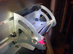 SIP 01552 fence tilting mechanism