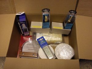 Axminster order including router cutters, lapping fluid, planer blade hone etc