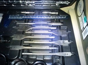 Spade bits in my large set from Titan