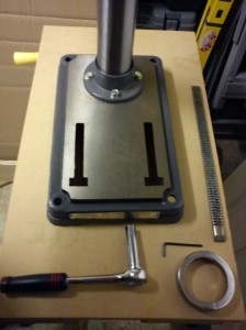 Base of AWBRD550 drill