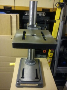 Table of AWBRD550 drill