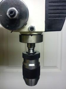 Chuck of AWBRD550 drill