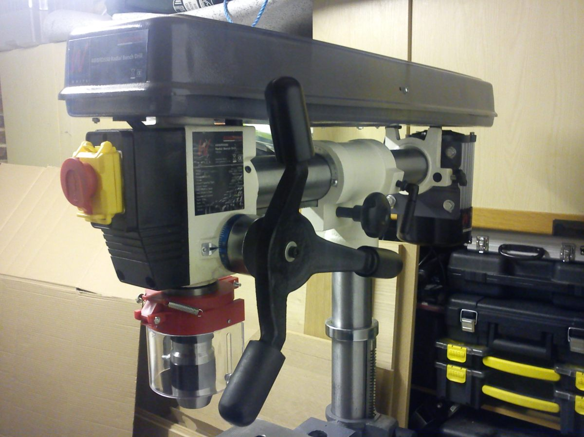 Review Axminster Awbrd550 Bench Radial Drill First