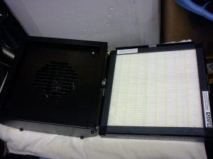 MC760 open with Jasun F9 filter