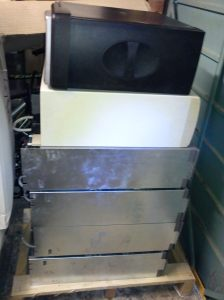 120kg of obsolete computer equipment