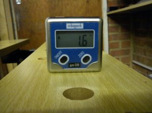 Gonimeter on workbench 2