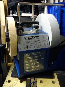 Tormek T7 on RB-180 rotating base