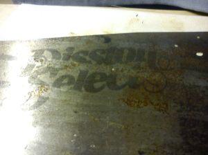 Markings on blade of Diston USA handsaw