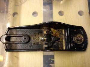 Stanley Bailey No. 4 1/2 sole with original wood shavings