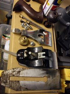 Dismantled Stanley Bailey No. 4 1/2