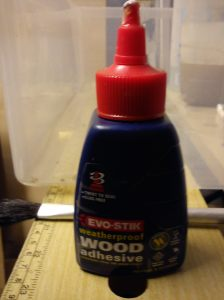 Evostick weatherproof wood glue