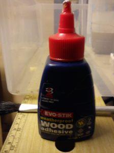 Evostick weatherproof wood glue