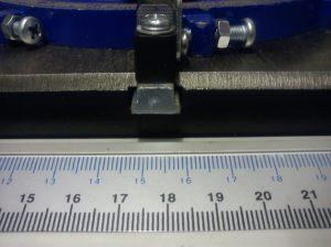 Charnwood W730 mitre gauge slot detail