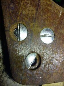 Spear & Jackson tenon saw broken screw heads