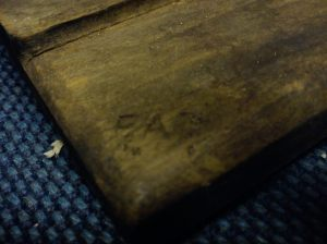 Wooden plane - EAB