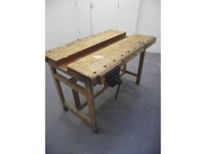 Gumtree ad - small bench