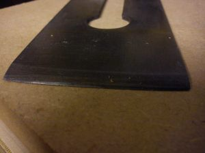 Acorn No. 4 blade before sharpening