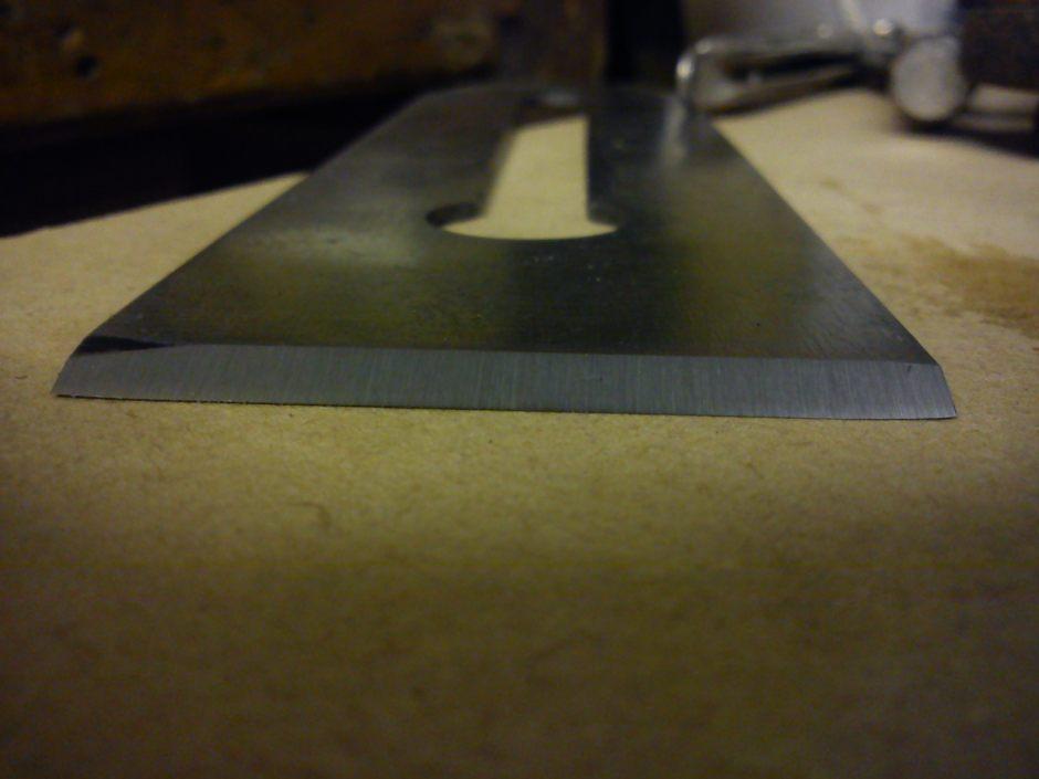 Sharpened blade from Acorn No. 4
