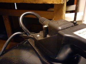NVD750 power lead