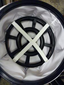NVD750 white filter