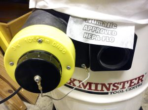 Numatic NVD750 small hose to HEPA flow bag