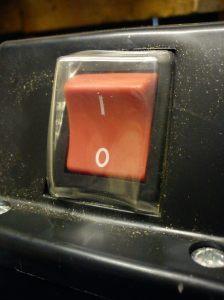 Numatic NVD750 power switch