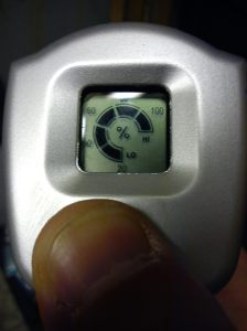 Battery indicator - 100%