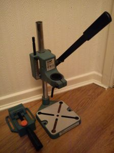 Drill stand and drill vice