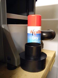 Dry lube and reducer
