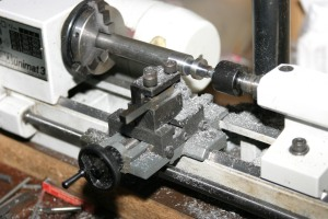 Making the collar to become the second washer
