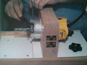 Router clamp