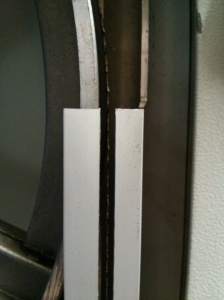W730 blade in guard - after