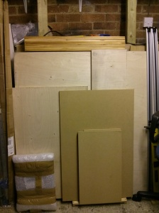 Ply and MDF storage