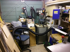 Door end of the garage