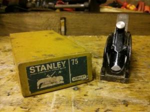 Stanley No. 75 plane