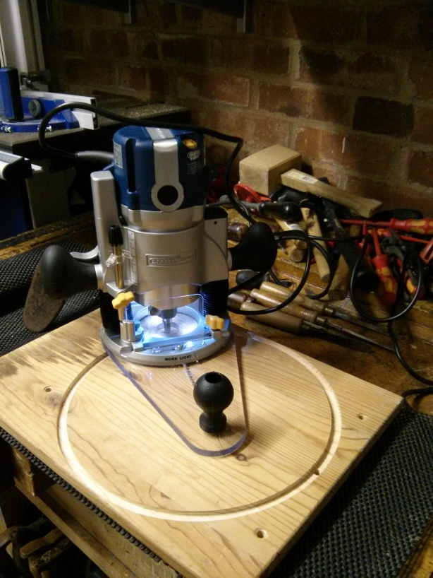 using a wood router