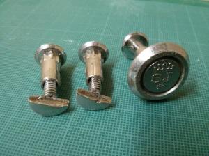 Broken saw nuts