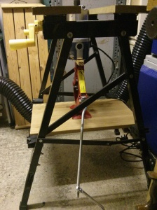 Router table mock up