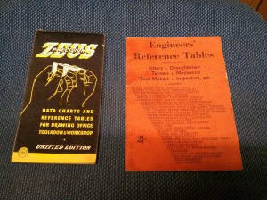 Zeus & Engineers reference tables