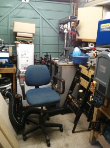 Untidy workshop