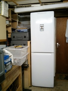 Fridge and rack