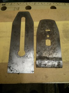 No 5 1/2 blade and chipbreaker