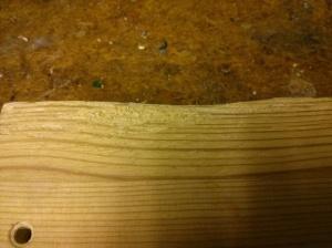 Scratched Ikea RAST bedside table
