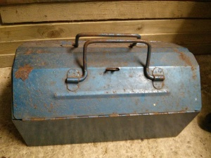 Small metal toolbox