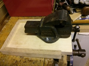 Small vice mounted