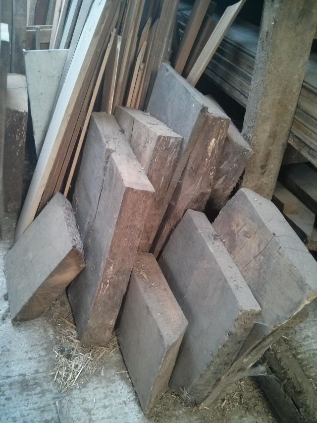 Large chunks of wood